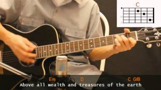 Paul Baloche - Above All Cover With Guitar Chords Lesson