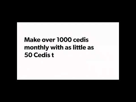Learn how to make 750-500 cedis with  just 46.15 Cedis