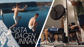 Hur man tacklar sista dagen i Sverige med stil....