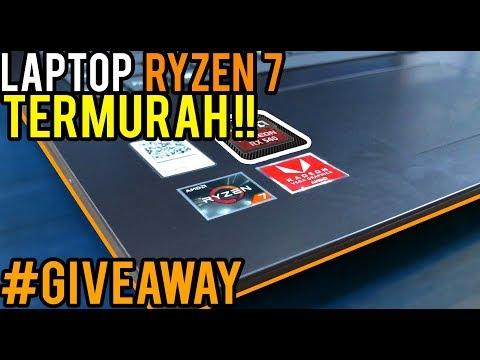 Laptop RYZEN 7 2700U TERMURAH ! Plus GIVEAWAY (LAGI) ! Review Lenovo 330-15ARR !