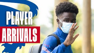 Saka, Calvert-Lewin, Barnes & James Join Up With The Squad! 🦁  | Player Arrivals | Inside Access