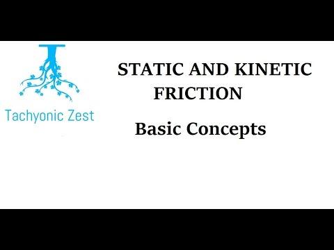Friction. Static Friction , Dynamic Friction, Basic Concepts