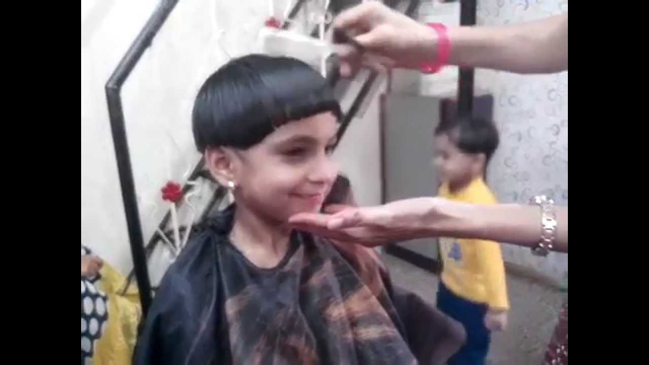 Mashroom Haircut How To Make Mashroom Hair Cut Youtube