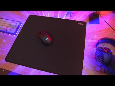 X-Ray Thor Mousepad Review! Glide On A Budget