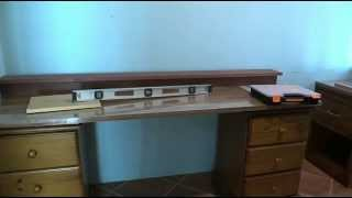 Office Computer Desk Build. Part 1