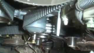 Timing belt replacement water pump Toyota Camry Solara 2004 3.3L V6 Install Remove