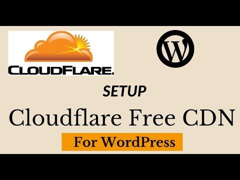 Setup Cloudflare Free CDN For WordPress