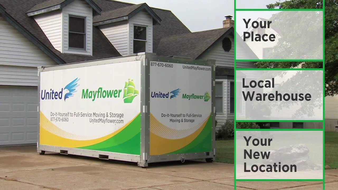 United Mayflower Portable Moving Amp Storage Containers