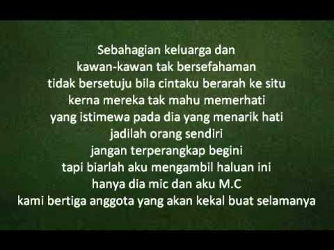 Altimet & Mawar Berduri(Ahli Fiqir) -Sayang Sayang lyric