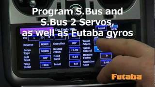 Futaba 18MZA 18-Channel Air Telemetry Radio System Video
