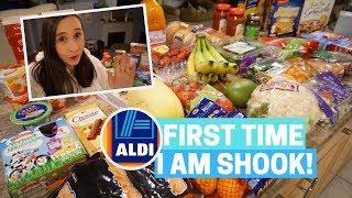 I TRIED ALDI!! $100 GROCERY HAUL - Kosher & Healthy!