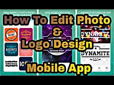 (Photo Editor & Logo Design) In Mobile Phone - Sinhala