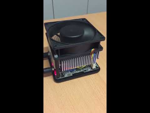USB Asic Bitcoin Miner / Butterfly Labs Jalapeno 7GH/s / Super Silent Mod