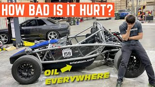 TOO MUCH BOOST? Troubleshooting The BLOWN UP Engine In My Ariel Atom
