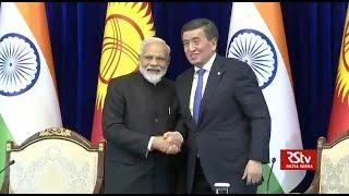Joint press statement by PM Modi and Kyrgyzstan President Sooronbay Jeenbekov