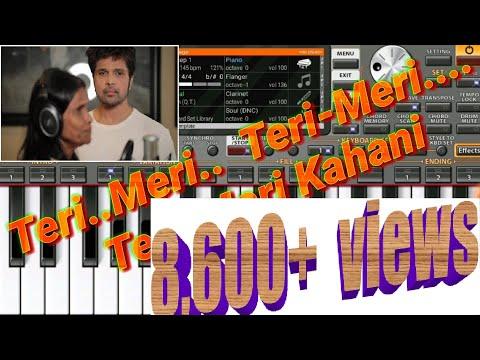 teri-meri-kahaani- -ranu-mondal-&-himesh-reshammiya- - -piano-cover