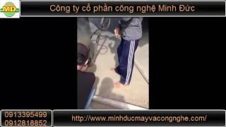 Cận cảnh nồi nấu kẹo -  CTCP Công Nghệ Minh Đức