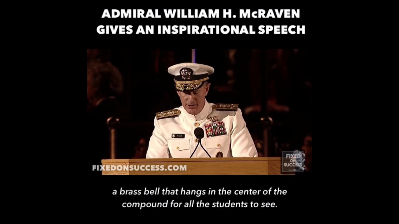 Life Lessons By Admiral McRaven 10 Never Quit