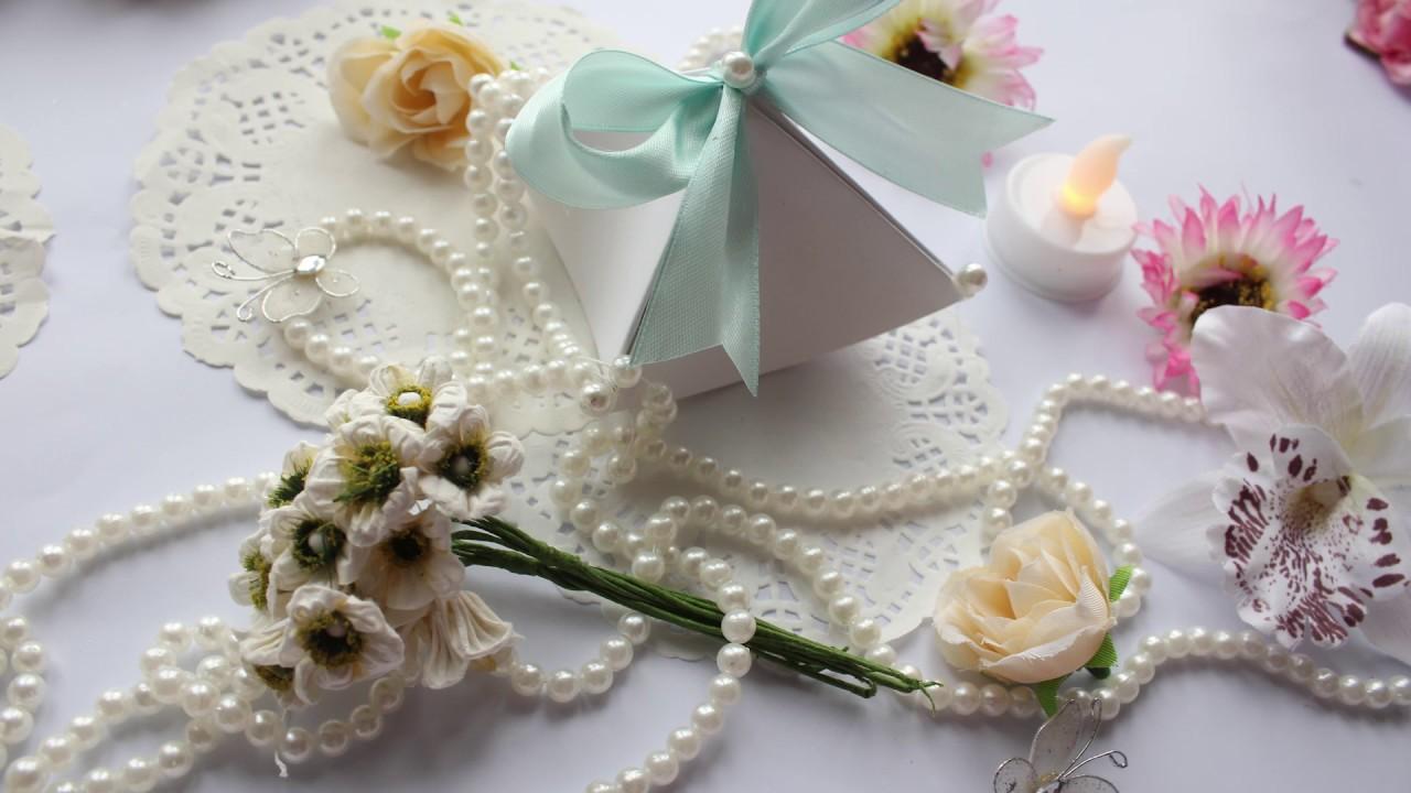 HOW TO MAKE EASY CHEAP WEDDING FAVOR- DIY IDEAS - YouTube