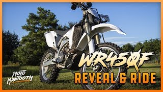 2007 Yamaha WR450F Reveal and First Ride