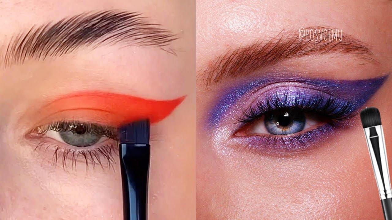 16 helpful eyes makeup tutorials to flatter your eye shape!