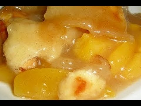 Peach dumpling recipes easy