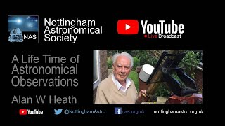 NAS  Alan Heath - A Life Time of Astronomical Observations
