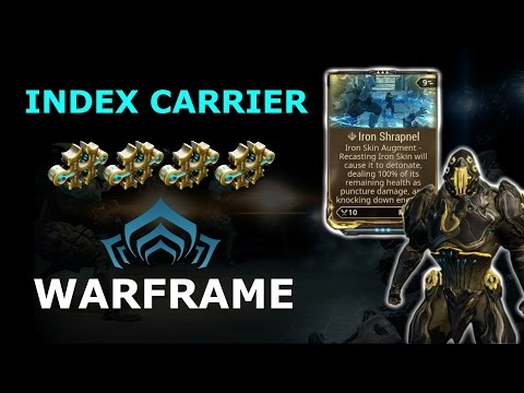 Warframe Builds - Index Carrier - Rhino Prime Build (3 - 4 Forma)
