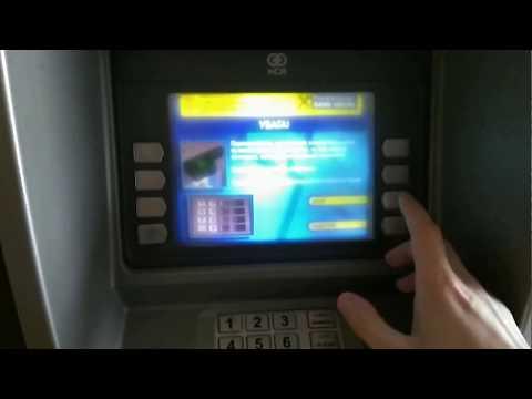 Видеоурок как пользоваться банкоматом