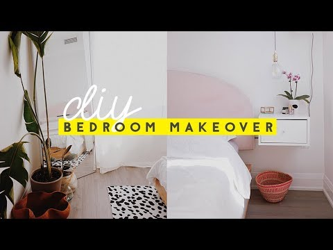DIY Bedroom Makeover with The Sorry Girls