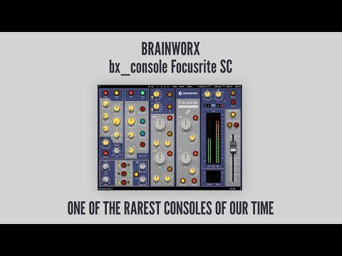 Brainworx just put one of the rarest studio consoles of all time in a plugin | MusicRadar