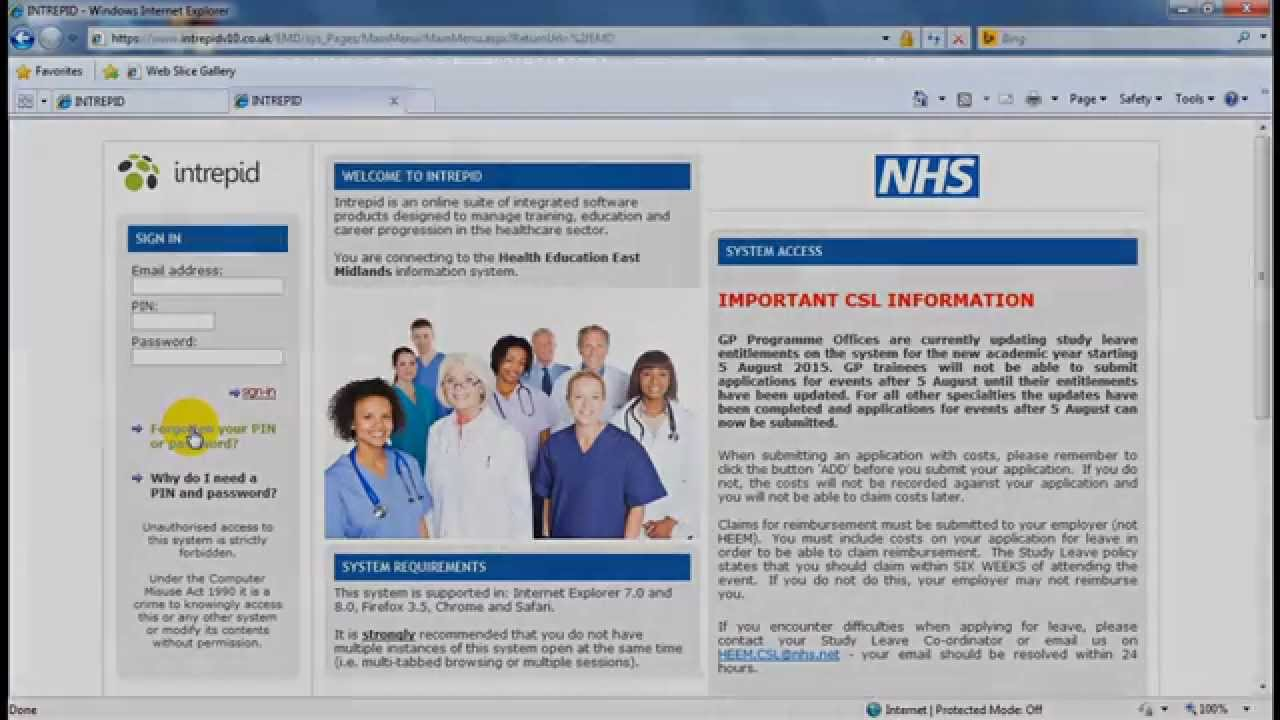 Curriculum Study Leave | Health Education England East Midlands