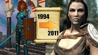 DÜNYANIN EN İYİLERİNDEN BİRİ | The Elder Scrolls Oyunlarının Tarihi ve Bilinmeyenleri