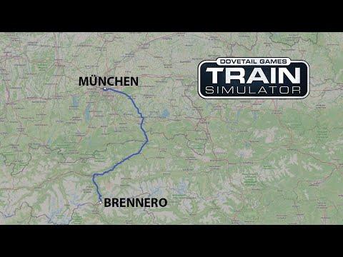 Train Simulator: München - Brennero Timelapse |