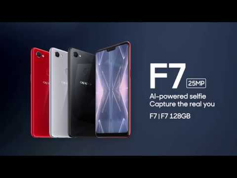 OPPO F7 25MP AI Powered Selfie with Diamond Black Edition