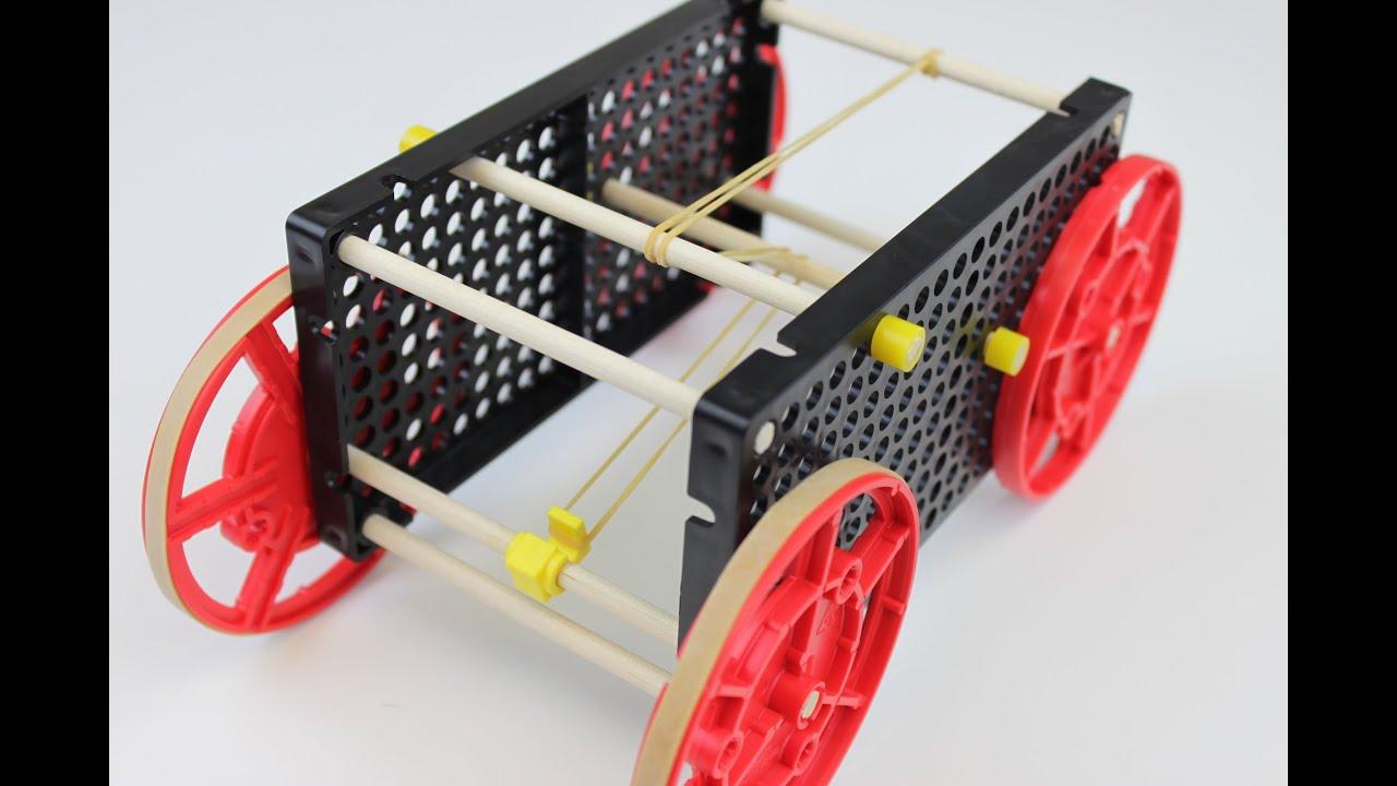 Teachergeek Rubber Band Racer Build Youtube