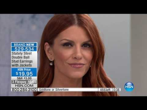 HSN | Stately Steel Jewelry 01.04.2017 - 03 PM