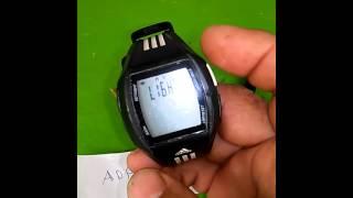 Casi muerto años Sindicato  Ajuste de hora a reloj Adidas ADP6046 - YouTube
