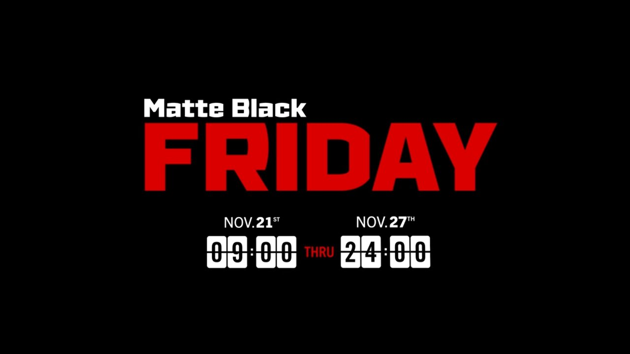 Matte Black Friday 2016 Rogue Fitness Youtube