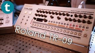 First Look at the Roland TR-09 Drummachine