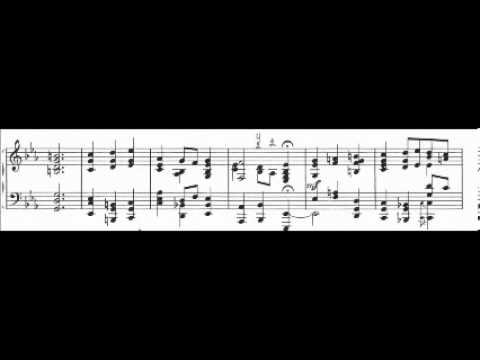 Bach - Bauer BWV 478  Komm, Süsser Tod  -  piano scores
