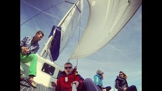 GoPro: Sailing in the Balearic Islands on catamaran (Mallorca, Menorca) 1080p HD