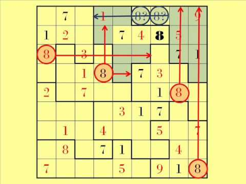 Solve a Jigsaw Sudoku (Demonstration)