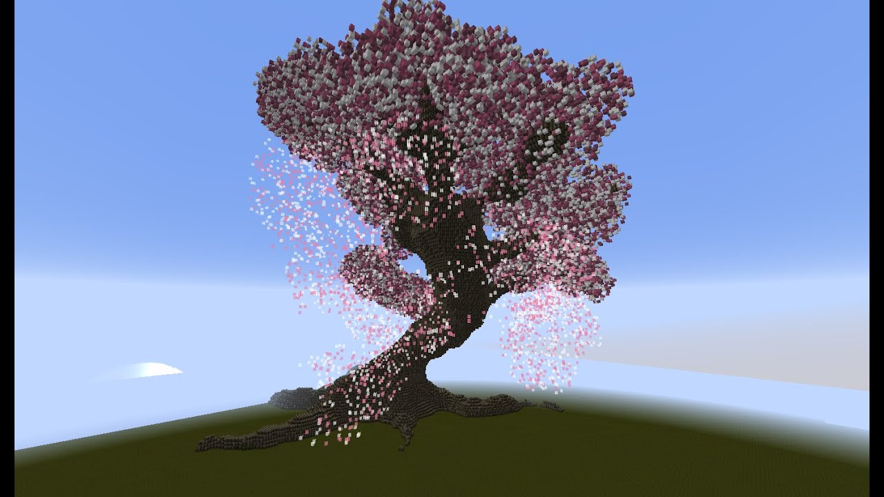 tutoriel cherry blossom tree youtube