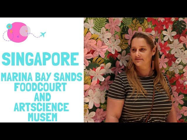 Glamadventure - Marina Bay Sands Foodcourt and ArtScience Museum