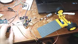 Arduino mini pro + LEGO  RC Car NRF24L01   l298N