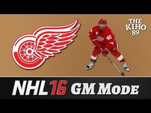 "NHL 16 GM Mode: Detroit Jakso 26 ""Kapinakenraali"""