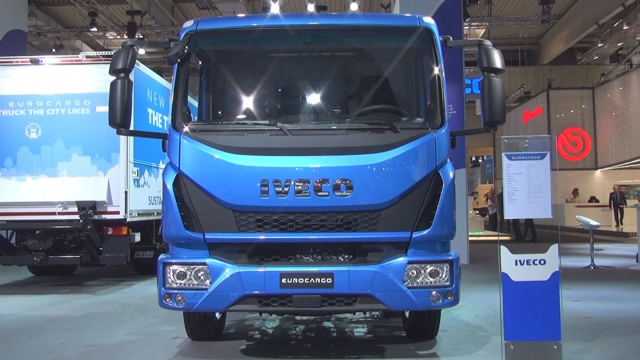 Iveco Eurocargo ML 120 EL 21/P CNG Chassis Truck (2017 ...