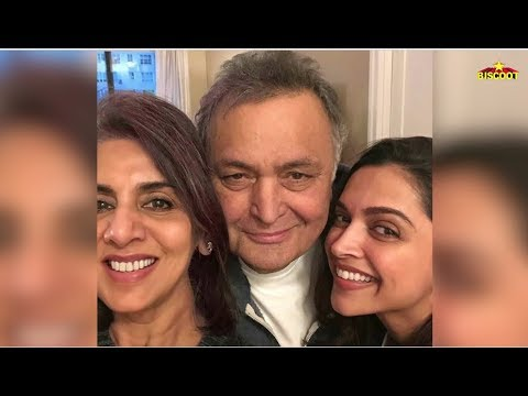 Ranbir kapoor EX GIRLFRIEND Deepika Padukone Meet Rishi Kapoor and Neetu Kapoor in New York Mp3
