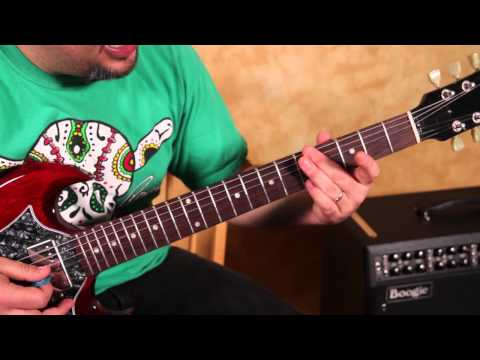 How to Play up and down the Neck with the Pentatonic Scale -  STEP ONE !